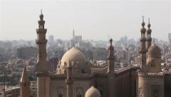 Mosque-Madrassa of Sultan Hassan. Cairo. Egypt. Zoom. Stock Footage