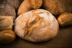 Close-up of traditional bread Stock Photos
