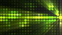 Seamless Looping Abstract Animation of Light Effects Stock Footage
