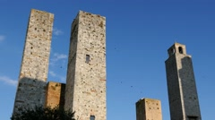 San Gimignano, Tuscany, Italy Stock Footage
