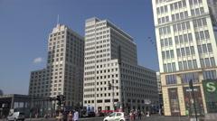 Berlin, Potsdamer Platz - stock footage