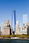 The new york city downtown w the freedom tower 2014 Kuvituskuvat