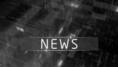 Colorless abstract news generic background Stock Footage