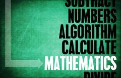 mathematics - stock illustration