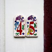 number 45 - stock photo