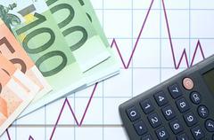 european economic growth - stock photo