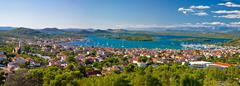 amazing islands of croatia archipelago - stock photo