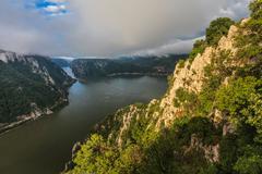 Danube gorges, romania Stock Photos