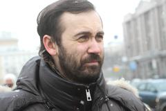 Opposition leader ilya ponomarev Stock Photos