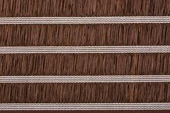 Brown material with lines, a background or texture Stock Photos