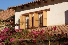 Historic Hacienda - stock photo
