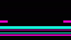Color Bars invert Stock Footage