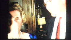 High society, formal party - stock footage
