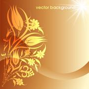 Stock Illustration of floral vector background