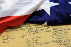 John Hancocks signature US constitution Kuvituskuvat