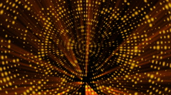 Gold abstract loop motion background and light Stock Footage