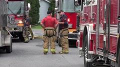 Fireman, EMT, Emergeny Response - stock footage