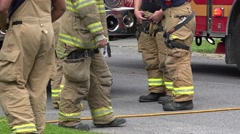 Fireman, EMT, Emergeny Response Stock Footage