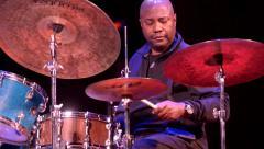 Lenny White at the drums Stock Footage