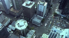 Auckland Aerial Stock Footage