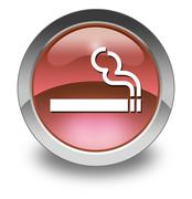 Stock Illustration of icon, button, pictogram smoking area