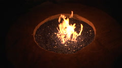 Firepit Stock Footage