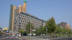 Berlin, Potsdamer Platz Stock Footage
