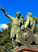 Stock Photo of monument to minin and pozharsky