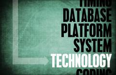 technology - stock illustration