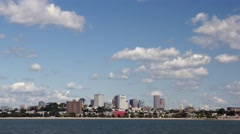 4K Boston Skyline Stock Footage