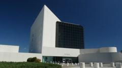 HD JFK Library Stock Footage