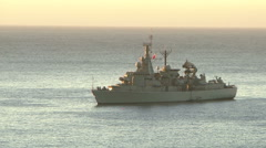 Chilean Navy Stock Footage