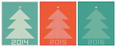 New year's + xmas designs Stock Illustration