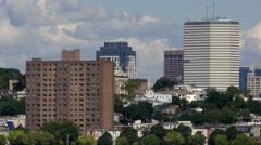 HD South Boston Skyline Pan - stock footage