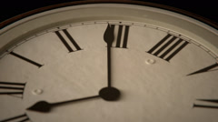 Speedy Clock. Time Countdown Minutes - stock footage