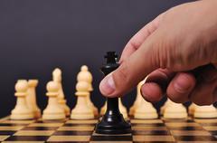 checkmate - stock photo