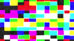 Colors blocks background Stock Footage