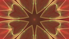 Star shaped kaleidoscopic animation Stock Footage