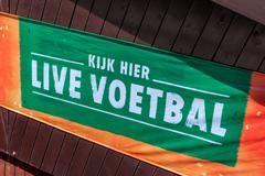 Dutch advertising for football public viewing Kuvituskuvat