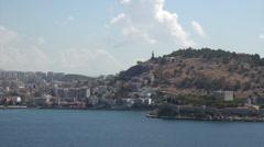 Ephesus Turkey port city Kusadasi HD Stock Footage