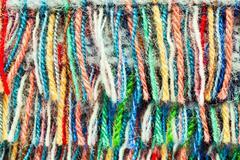 wool fringe - stock photo