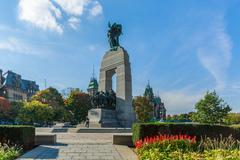 War memorial, ottawa, canada Stock Photos