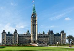 house parliament, ottawa canada - stock photo