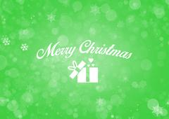 Merry christmas abstract background Stock Illustration