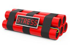 Stock Illustration of the stress bomb