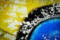 Spray paint in wall Kuvituskuvat