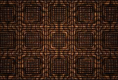 Geometric ornament background Stock Illustration