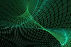 background green crease - stock illustration