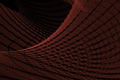 background red curtain - stock illustration