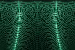 Background curtain green - stock illustration